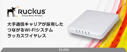 Ruckus Wireless / ラッカスワイヤレス Wi-Fiシステム